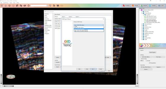 Exporting RGB Blend