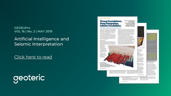GEOExPro VOL 16  No. 2  MAY 2019 Artificial Intelligence and Seismic Interpretation